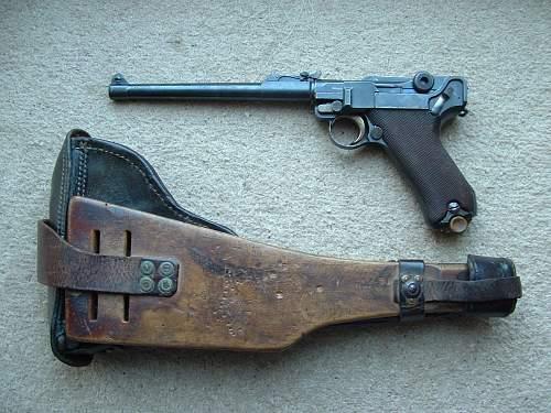 Artillery Lugers