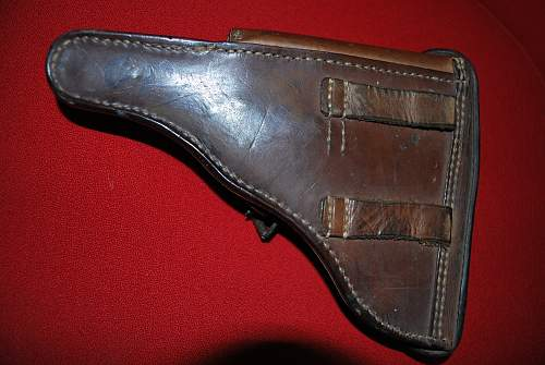 1918 Eurfurt Luger with extras