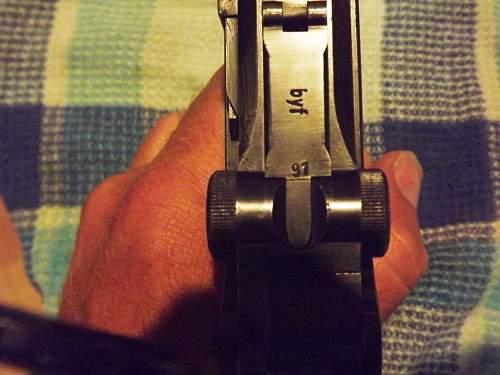 My first Luger - 1941 mauser 7091 matching