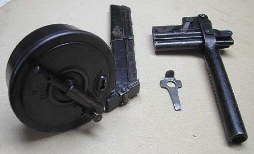 Click image for larger version.  Name:Cropped resized Snail Drum Magazine Loader take down Tool.jpg Views:1736 Size:111.1 KB ID:66988