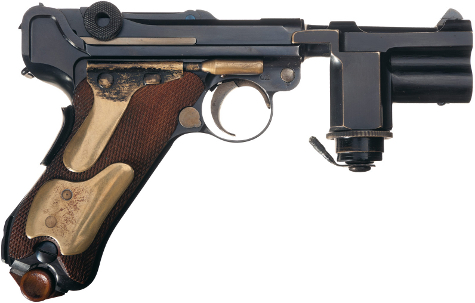Operation Foxley: Silenced Luger From Abandoned Operation To Kill Hitler Goes On Display.
