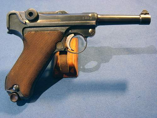 New 1917 Luger added to my collection this week