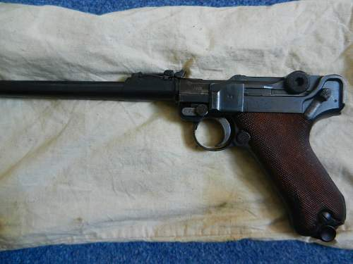 DWM Artillery Luger 1916