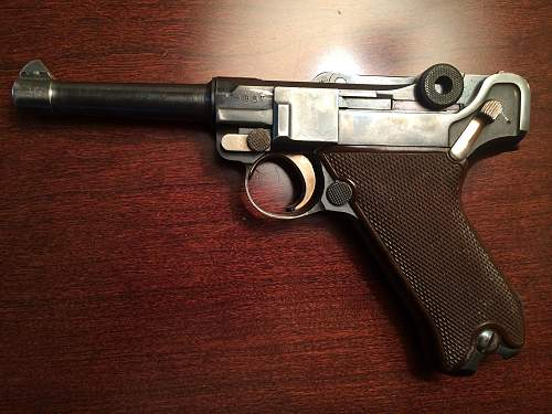Inherited 1936 P08, looking for info