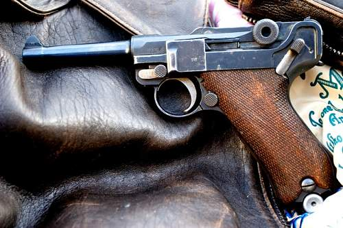 Luger with 2 date stamps?