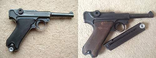 Luger being offered as part exchange - good example?