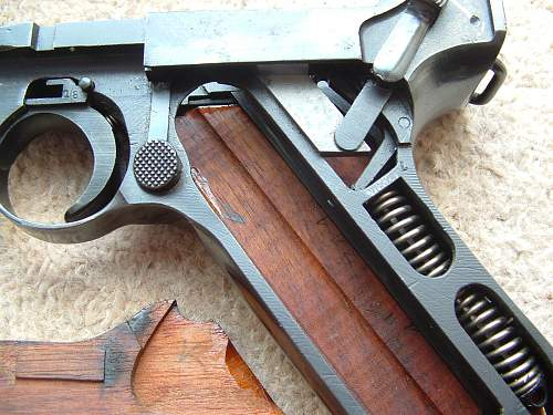 Lugers 1934 - 1945 (To include Ku, K & G code lugers)