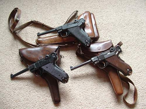 Swiss Luger Grouping