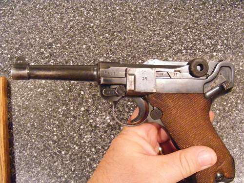 2 New additions to my Luger collection.