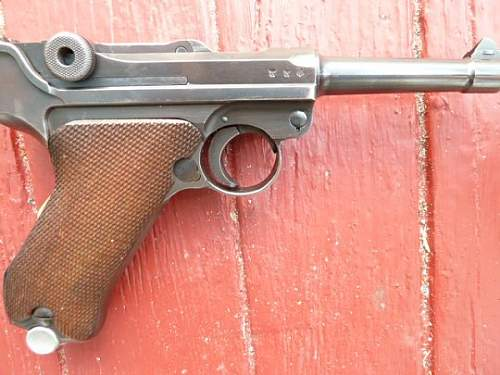 1939 S/42 Luger Matching From George Anderson