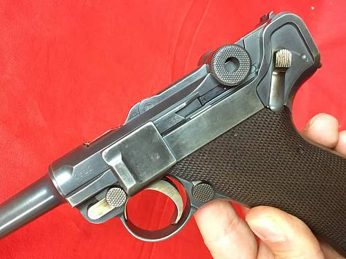 First Luger  , 1915......want to learn about it !