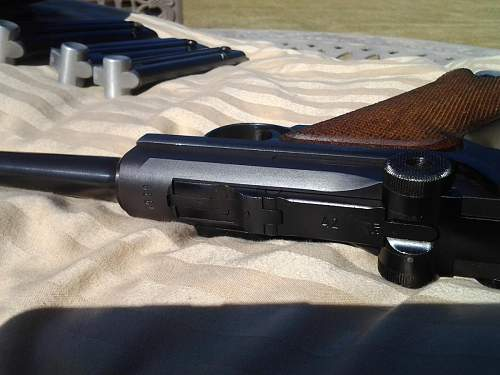 """1939 42 code Luger complete rig """"the pictures will do the talking"""""""