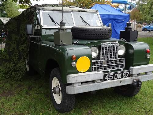 Burtonwood Nostalgia weekend