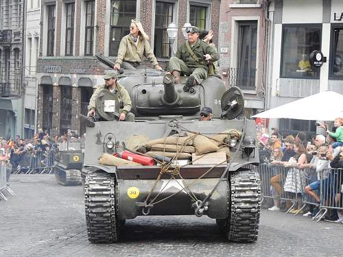 Tanks in Town (Mons, Belgium) 2019