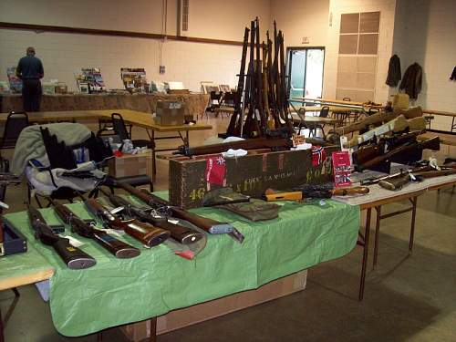Raleigh Militaria Show Pictures 9/27/08