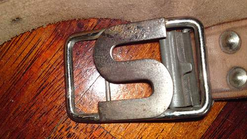 Quiz for the buckle experts.......