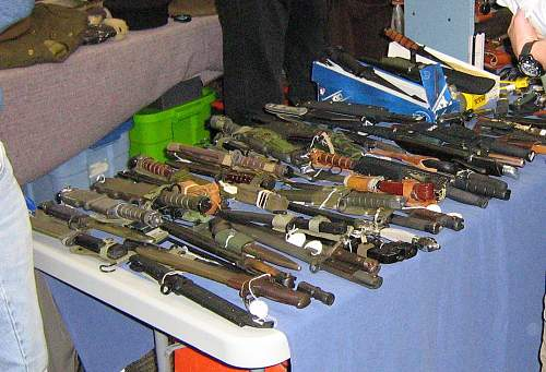 Today's Historical Arms Collectors of BC show