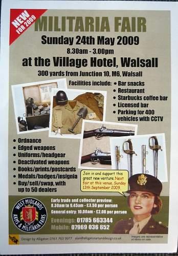 New Fair at Walsall 24th of MAY
