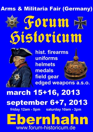 The EBERNAHN Arms & Militaria Show - Germany, 2013 march 15 and 16
