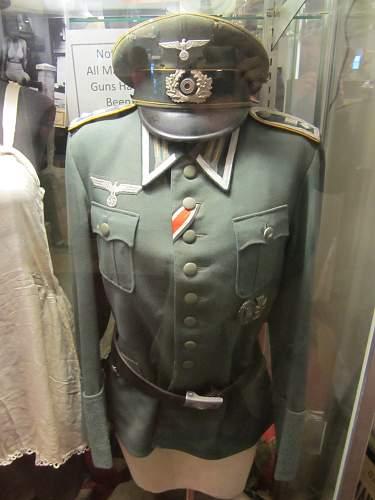 Military Museum in Gettysburg.