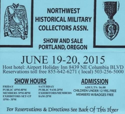 Portland OR show June 19 & 20
