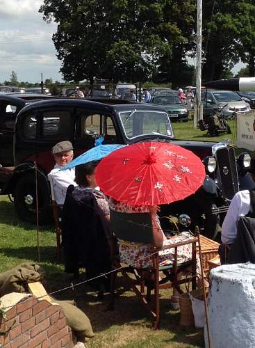 Thorpe Camp, Tattershall, Lincolnshire - 1940's Weekend