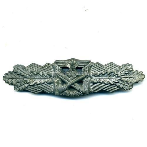 Nahkampfspange in bronze Original?