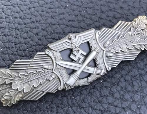 Hobacher Nahkampfspange Bronze