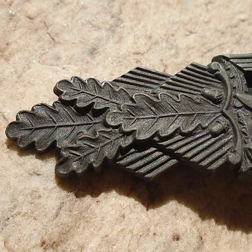 Nahkampfspange in Bronze