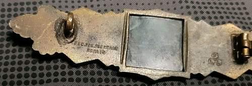 Nahkampfspange Bronze - FLL