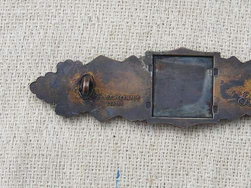 Bronze Nahkampfspange: FLL