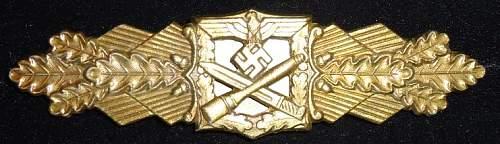Nahkampfspange im Bronze by FLL.
