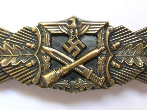 JFS Nahkampfspange in Bronze