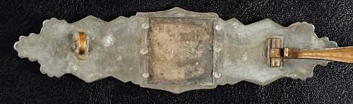 Bronze Nahkampfspange unknown maker?