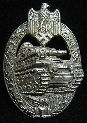 Opinion of FLL Nahkampfspange and AS Panzerkampfabzeichen.