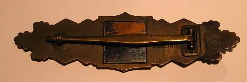 JFS Nahkampfspange(bronze)