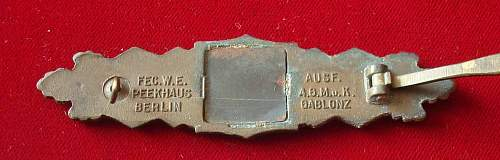 AGMuk Nahkampfspange bronze real or fake