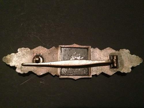 Nahkampfspange in Bronze  FLL