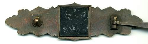 Authenticity Nahkampfspange in silber