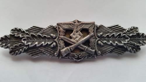 Nahkampfspange in Bronze,  opinions please !