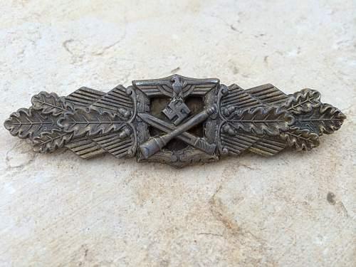 My First Nahkampfspange In Bronze Salty