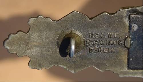 My first Nahkampfspange in Bronze - JFS