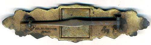 Nahkampfspange in Gold, FLL Type 1.14.1?