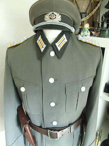 DDR NVA Major's tunic