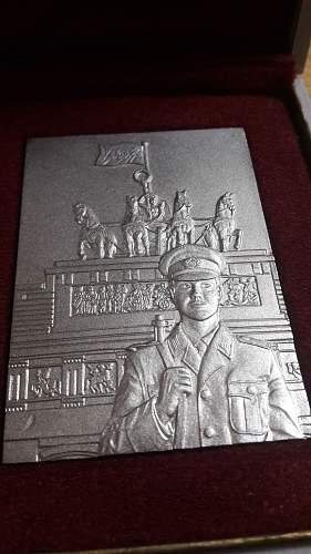 NVA DDR Stadtkommandatur Berlin Award