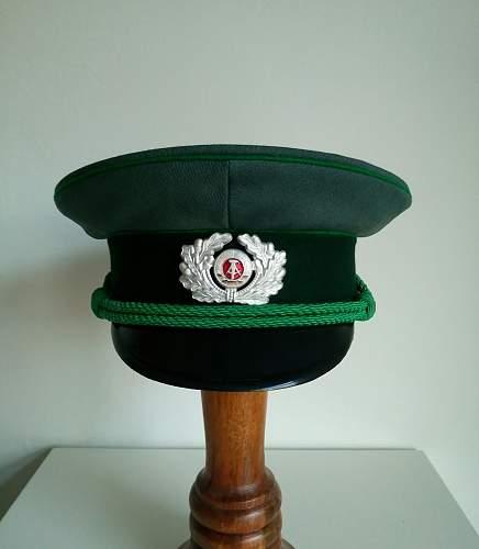 DDR Volkspolizei schirmmütze