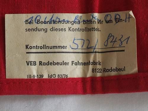 DDR Armbinde