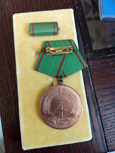Grenztruppen medal