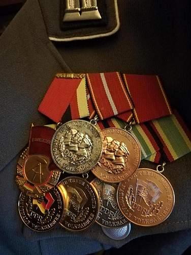 NVA Medal group