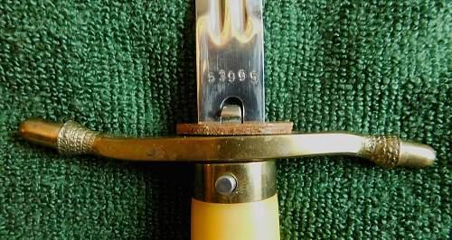 DDR Officers dagger